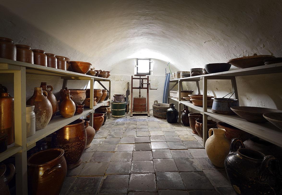 Kelder van de Oudheidkamer, Den Brug, Texel